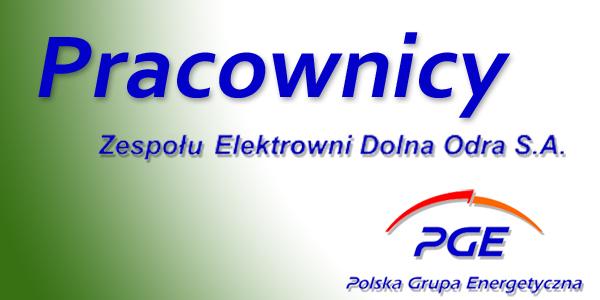 Pracownicy Zespołu Elektrowni Dolna Odra